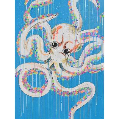 Heartelier Octopus Painting Print