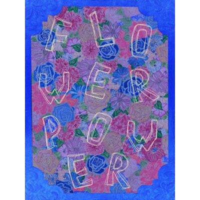 Heartelier Flower Power Painting Print