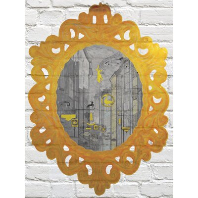 Heartelier Ghost Town Painting Print