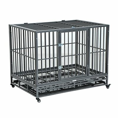 "Wheels Pet Crate Size: 26.8"" H x 24.4"" W x 36.2"" D"