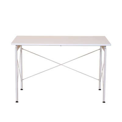 Modern Writing Desk Color: White