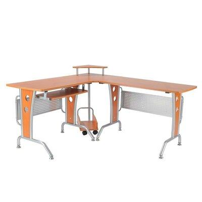 Modern L-Shaped Computer Desk