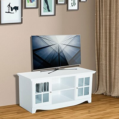 """Mcgrady Storage 56"""" TV Stand Color: White"""