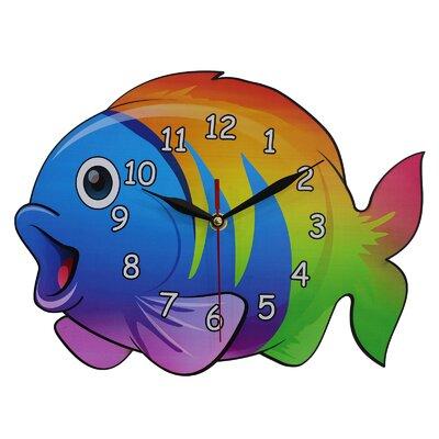 Obique Fish Wall Clock