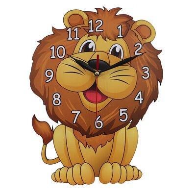Obique Lion Wall Clock