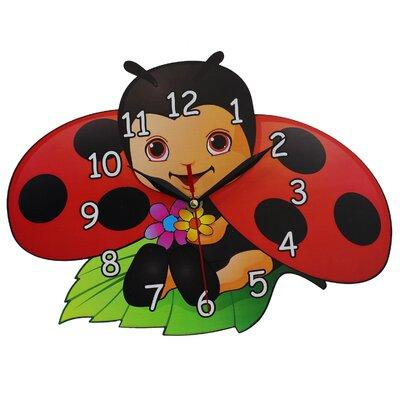 Obique Ladybird Wall Clock