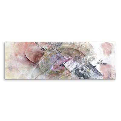 PaulSinusArt Enigma Panorama Abstrakt 1312 Painting Print on Canvas
