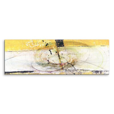 PaulSinusArt Enigma Panorama Abstrakt 1324 Painting Print on Canvas