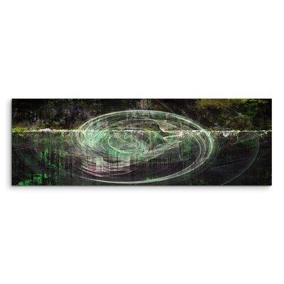 PaulSinusArt Enigma Panorama Abstrakt 1326 Painting Print on Canvas