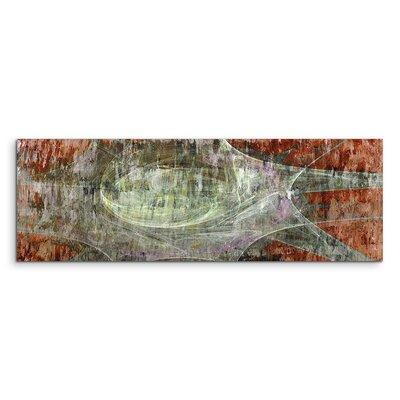 PaulSinusArt Enigma Panorama Abstrakt 1491 Painting Print on Canvas