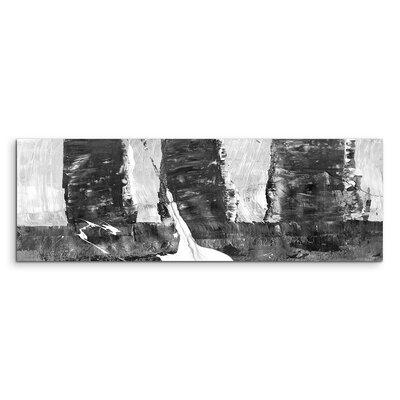 PaulSinusArt Enigma Panorama Abstrakt 501 Painting Print on Canvas