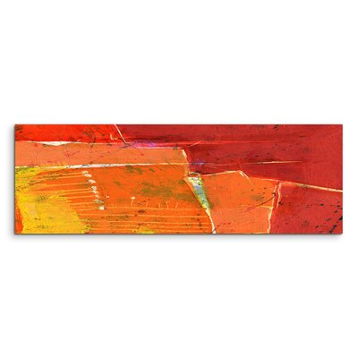 PaulSinusArt Enigma Panorama Abstrakt 695 Painting Print on Canvas