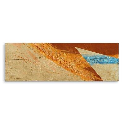 PaulSinusArt Enigma Panorama Abstrakt 700 Painting Print on Canvas