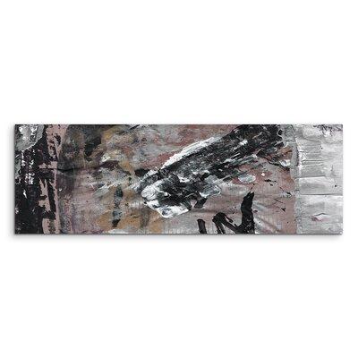 PaulSinusArt Enigma Panorama Abstrakt 701 Painting Print on Canvas