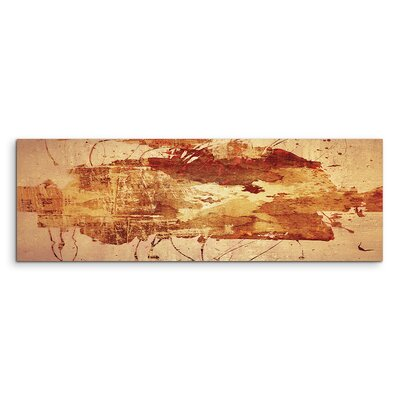 PaulSinusArt Enigma Panorama Abstrakt 708 Painting Print on Canvas