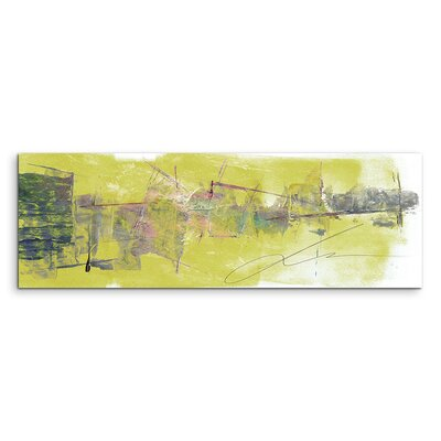 PaulSinusArt Enigma Panorama Abstrakt 709 Painting Print on Canvas