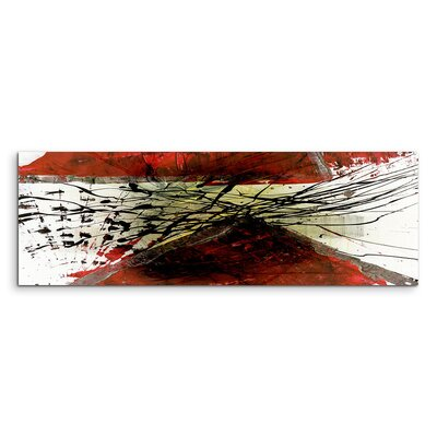 PaulSinusArt Enigma Panorama Abstrakt 711 Painting Print on Canvas