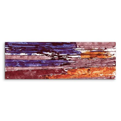 PaulSinusArt Enigma Panorama Abstrakt 713 Painting Print on Canvas