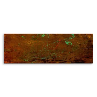 PaulSinusArt Enigma Panorama Abstrakt 715 Painting Print on Canvas