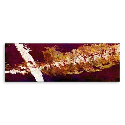 PaulSinusArt Enigma Panorama Abstrakt 717 Painting Print on Canvas