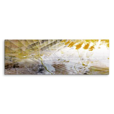 PaulSinusArt Enigma Panorama Abstrakt 864 Painting Print on Canvas