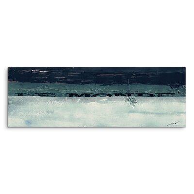 PaulSinusArt Enigma Panorama Abstrakt 865 Painting Print on Canvas