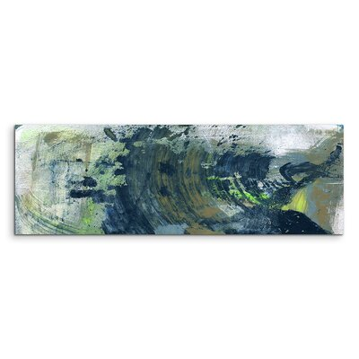 PaulSinusArt Enigma Panorama Abstrakt 867 Painting Print on Canvas