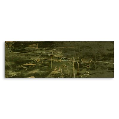 PaulSinusArt Enigma Panorama Abstrakt 870 Painting Print on Canvas