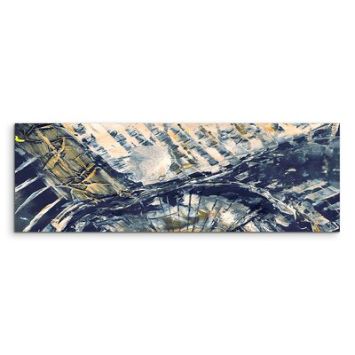 PaulSinusArt Enigma Panorama Abstrakt 871 Painting Print on Canvas