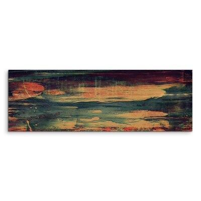 PaulSinusArt Enigma Panorama Abstrakt 874 Painting Print on Canvas