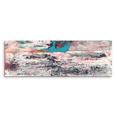 PaulSinusArt Enigma Panorama Abstrakt 875 Painting Print on Canvas