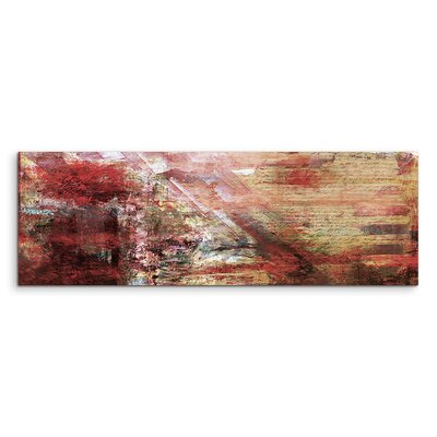 PaulSinusArt Enigma Panorama Abstrakt 885 Painting Print on Canvas