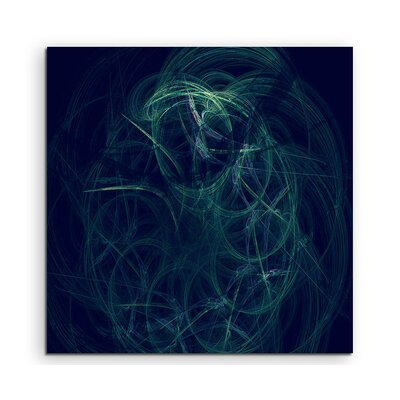 PaulSinusArt Enigma Abstract 1234 Photographic Print on Canvas
