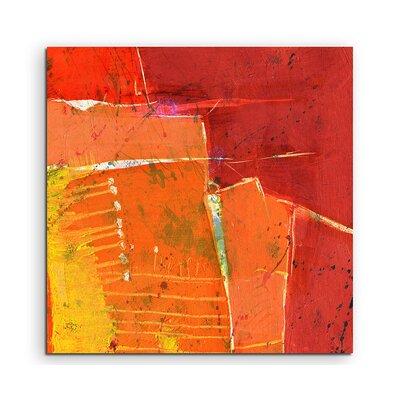 PaulSinusArt Enigma Abstrakt 695 Painting Print on Canvas