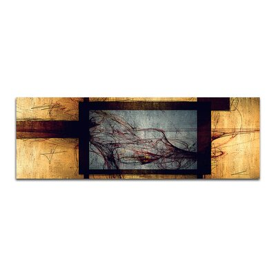 PaulSinusArt Enigma Panorama Abstrakt 309 Painting Print on Canvas