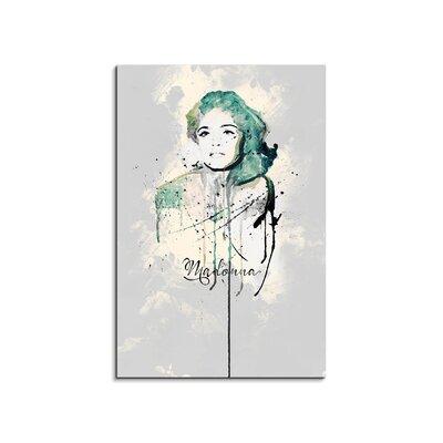 PaulSinusArt Enigma Madonna Painting Print on Canvas