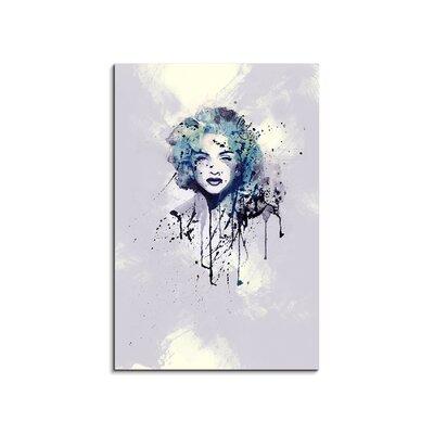 PaulSinusArt Enigma Madonna Bonita Painting Print on Canvas