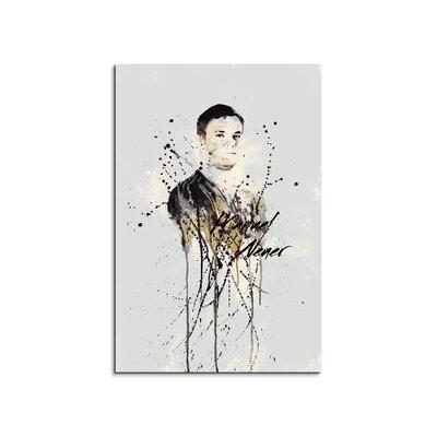 PaulSinusArt Enigma Manuel Neuer II Painting Print on Canvas
