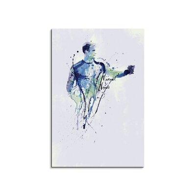 PaulSinusArt Enigma Manuel Neuer III Painting Print on Canvas