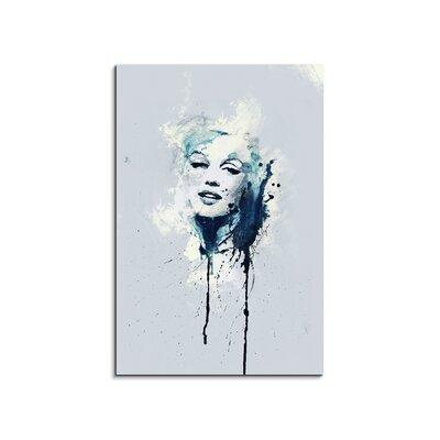 PaulSinusArt Enigma Marilyn Monroe Painting Print on Canvas