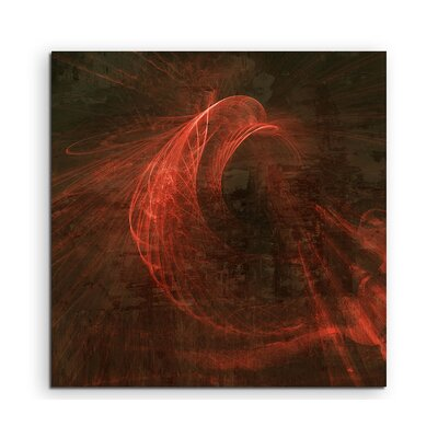 PaulSinusArt Enigma Abstract 1266 Photographic Print on Canvas