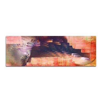 PaulSinusArt Enigma Panorama Abstrakt 322 Painting Print on Canvas