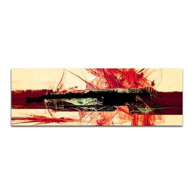 PaulSinusArt Enigma Panorama Abstrakt 323 Painting Print on Canvas