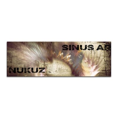 PaulSinusArt Enigma Panorama Abstrakt 325 Painting Print on Canvas
