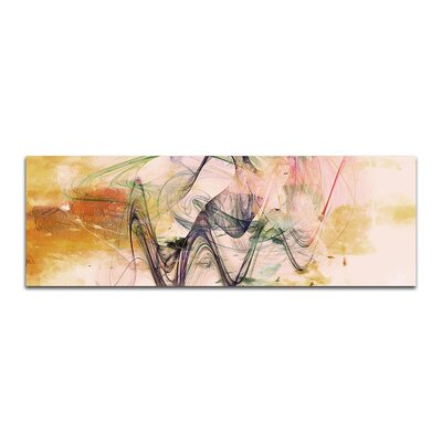 PaulSinusArt Enigma Panorama Abstrakt 329 Painting Print on Canvas