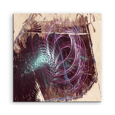 PaulSinusArt Enigma Abstrakt 1269 Painting Print on Canvas