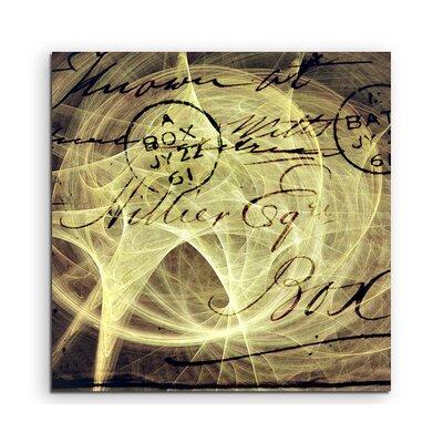 PaulSinusArt Enigma Abstrakt 1275 Painting Print on Canvas