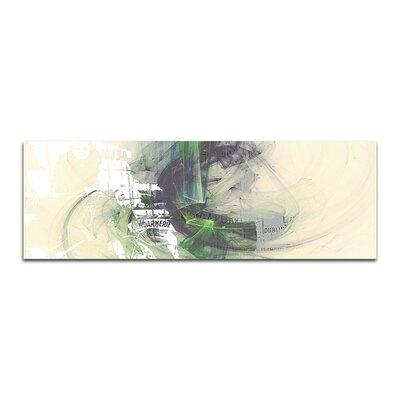 PaulSinusArt Enigma Panorama Abstrakt 332 Painting Print on Canvas