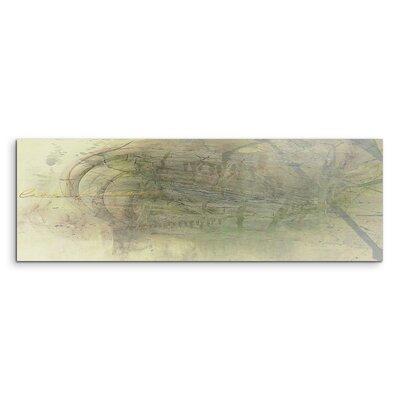 PaulSinusArt Enigma Panorama Abstrakt 1026 Painting Print on Canvas