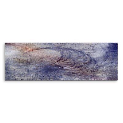 PaulSinusArt Enigma Panorama Abstrakt 1027 Painting Print on Canvas